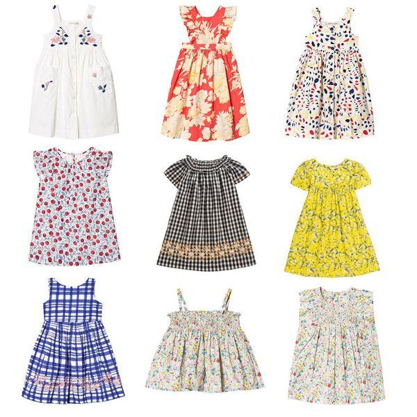 Pre-sale Hot 2019ss Spring And Summer New Bp Girls Baby Print Tao Bobo Tutu Dress J190612