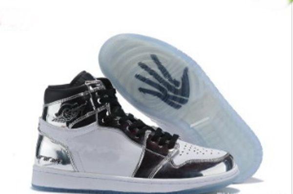 Novo 1 High OG Brincou Toe Banido Azul Royal Sapatos de Basquete Homens 1 s Top 3 Shattered Backboard Sombra Kawhi Leonard Tênis Esportivos