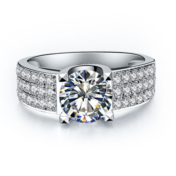 bague diamant 1 ct