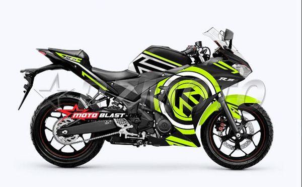 High quality New Injection ABS Mold Motorcycle plastic Fairing Kit For YAMAHA R3 R25 2015 2016 15 16 Fairings Bodywork set green black