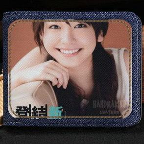 Gakki wallet Aragaki Yui purse Yuibo hot star short cash note case Money notecase Leather jean burse bag Card holders