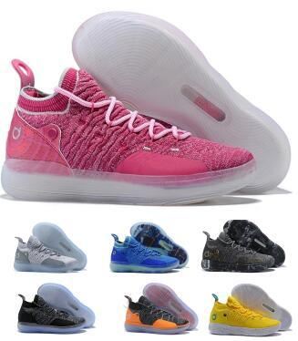Basketball Shoes Sneakers Kd 11 11s 2019 Mens Grey Multi Still Eybl BHM Kevin Durant XI Oero Foam Man Sports Trainer Zapatos Shoes