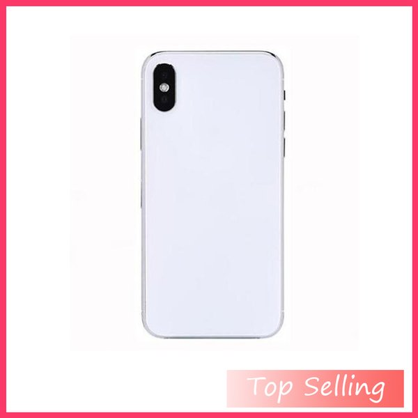 Top Goophone ix Wireless Charging glass cover 4g lte Octa Core 4G Ram 32G Rom Show 256Gb Face recognition Goophone x Sealed Box