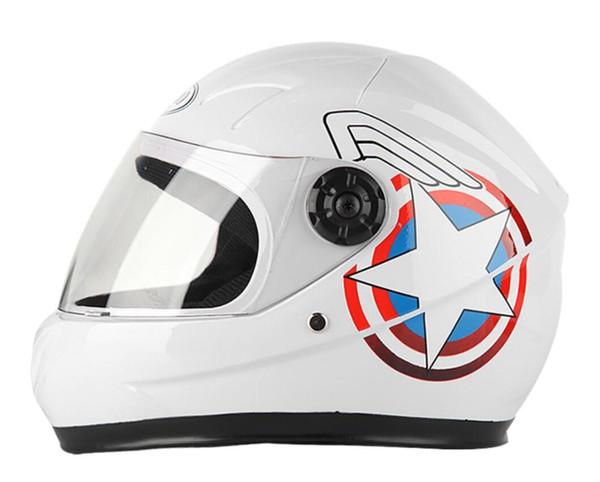 Новые детские мотоциклетные полнолицевые шлемы мотоциклетные шлемы мотоциклетные детские защитные шлемы MOTO