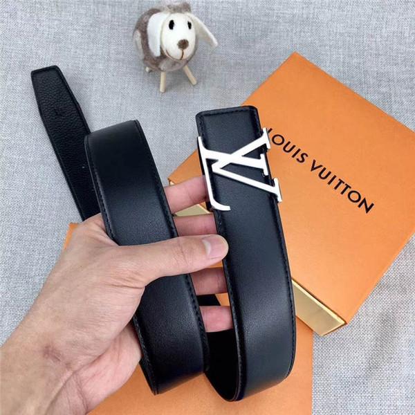 Cinturón de marca de moda nuevas mujeres moda hebilla lisa cinturón de hebilla de metal amigas ocasional personalidad cinturón 113224