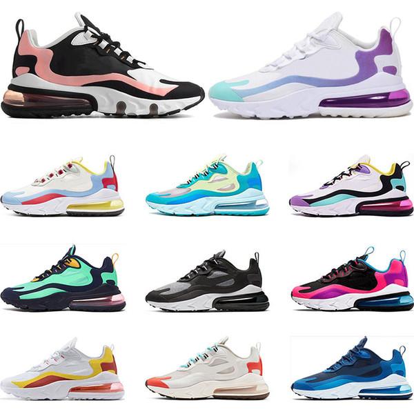 nike air max 270 react en kaliteli tepki tepki BAUHAUS OPTIK Haper Jade moda erkek eğitmen nefes spor sneakers boyutu 36-45