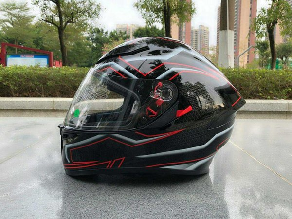 Full Face k5 Pista GP-R Gloss dual visor Motorcycle Helmet Riding Car motocross racing motorbike helmet ((Replica)
