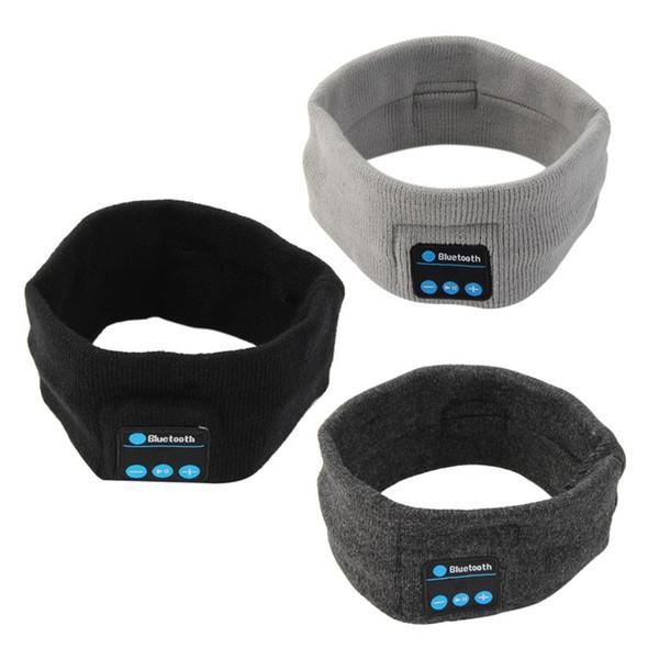 Sport Drahtlose Bluetooth Musik Hut Stirnband Kopfhörer headset Kopfhörer Laufen Yoga Sweat Schal Head Wrap Caps für handy Smartphone