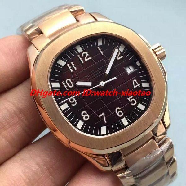 Reloj de lujo 3 Estilo Acero Negro Jumbo 40mm Pulsera Reloj para hombre 5167 / 1A-001 Reloj de pulsera automático para hombre