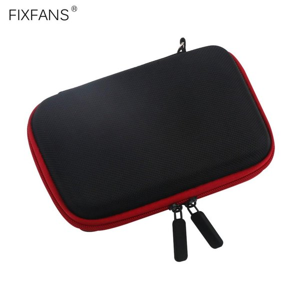 FIXFANS Vape DIY Tool Kit Carrying Case Storage Bag with Zipper Small Empty Pocket Travel Vapor Bag 155x105x40mm for RBA RDA