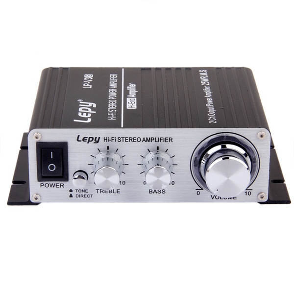 top popular DC 12V Hi-Fi Stereo Audio Mini Amplifier For Home Car Motorcycle Black 2021