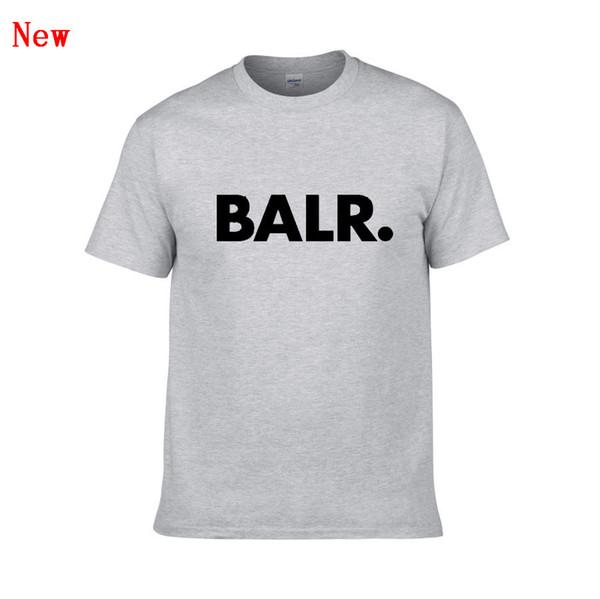 BALR Mektup Baskı T Shirt Yaz Kadın Erkek Yeni Varış Kısa Kollu Harajuku Tshirt Moda Rahat Streetwear T-Shirt ZG6