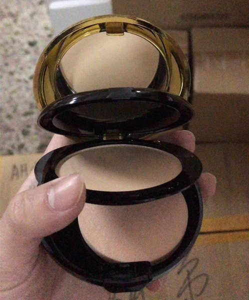 Cosmetics Brand Makeup Double Layer Foundation Face Setting Compact Powder SPF20 PA+++ Concealer fond de teint Kit