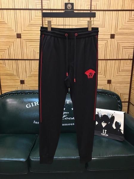 Pantalón largo causal de verano 2019 para hombres nuevos xm75 # 4200805