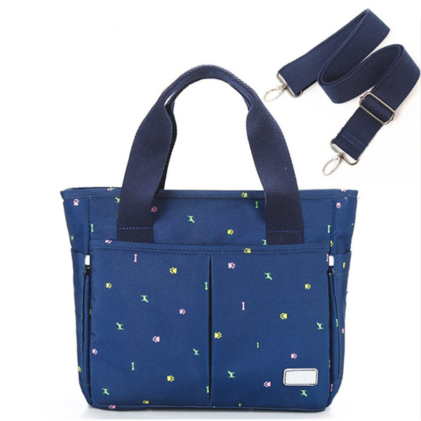 Diaper Bag Portable Zipper Go Out Use Baby Stroller Fashion Large Capacity Multifunction With Strap Nappy Leakproof Multi Pocket