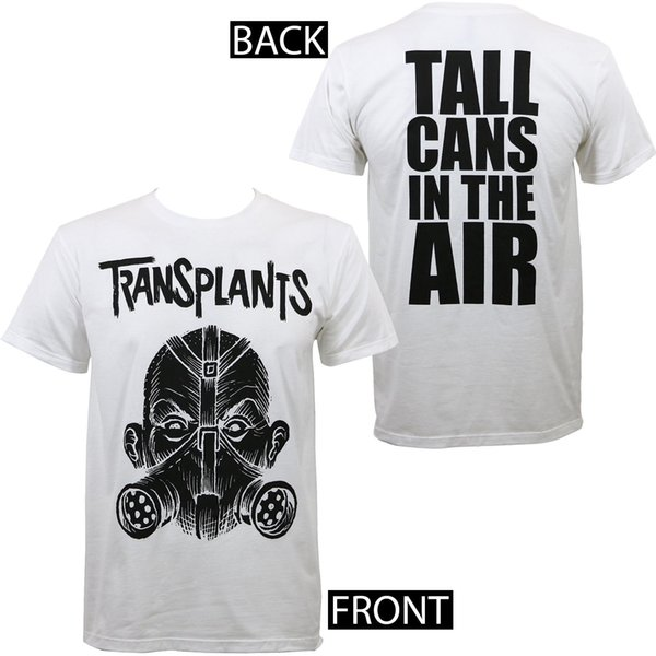 Authentic Transplants Tall Cans Slim - Fit T-shirt White S - 3xl New Printed Round Men T Shirt Cheap Price Top Tee
