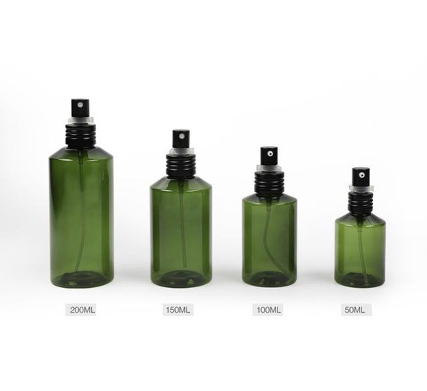 300pcs 50/100/ 150/200ml Lotion Pump Bottle,Empty Plastic Shampoo Sub-bottling,Makeup Bottling,Green Cosmetic Container