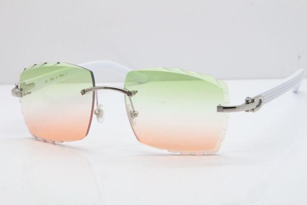 Silbergrünes Rosa Objektiv