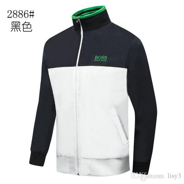 Il nuovo modo Mens disegno del rivestimento di lusso del rivestimento degli uomini di alta qualità casuale delle donne alta qualità del Mens Outerwear verde M-3XL LISI3