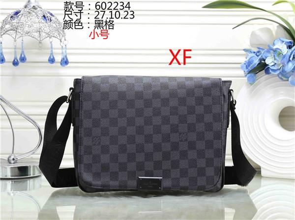 Berühmte Marke Logo DISTRICT Umhängetaschen Herren Designer Business Aktentasche Messenger Bags Totes Mann Handtaschen 3A + Luxus Clutch Totes