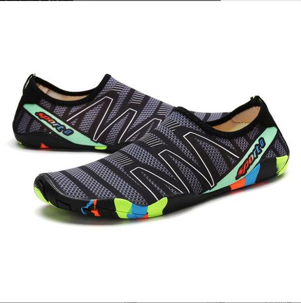 ho Men Sneakers Shoes For Swimming Outdoor Pool Beach Barefoot Shoes Women Fishing Aqua Water Diving Wading Big Size 35-46