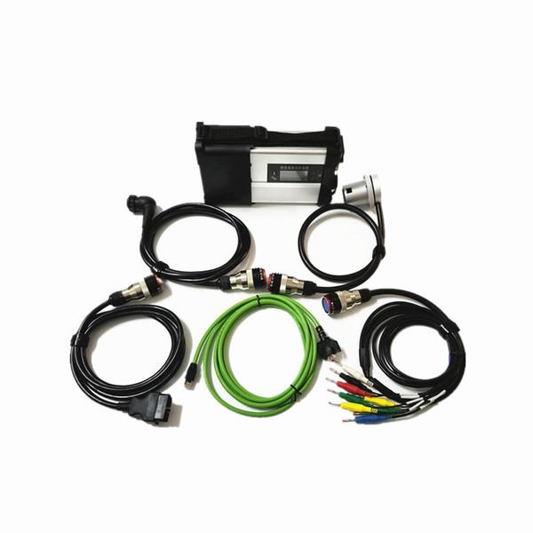 Hochwertiges MB STAR C5 SD CONNECT Diagnosewerkzeug mit WIFI MB Star SD C5 Diagnoseschnittstelle für PKW und LKW