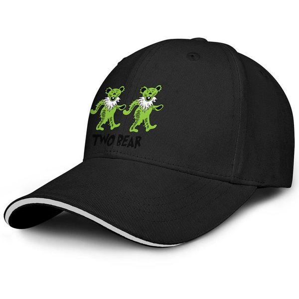 Men's Women's grateful dead two bear Snapback Trucker Cap Classic Cotton Mesh Caps Relaxed Dad Hat