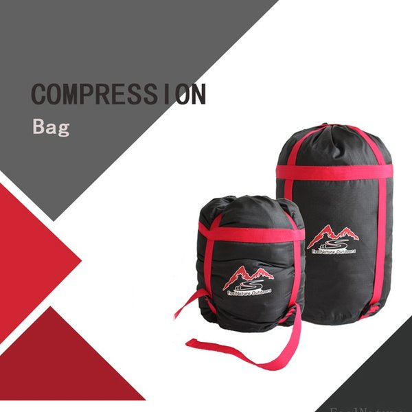Waterproof Compression Stuff Sack Bag Lightweight Outdoor Camping Sleeping Bag Storage Package For Travel Hiking