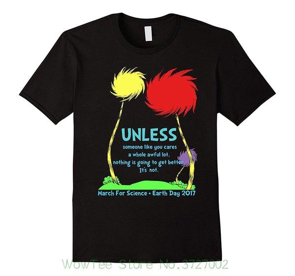A meno che marzo For Science Earth Day 2017 T-shirt New Mens Primavera Estate Dress manica corta Casual