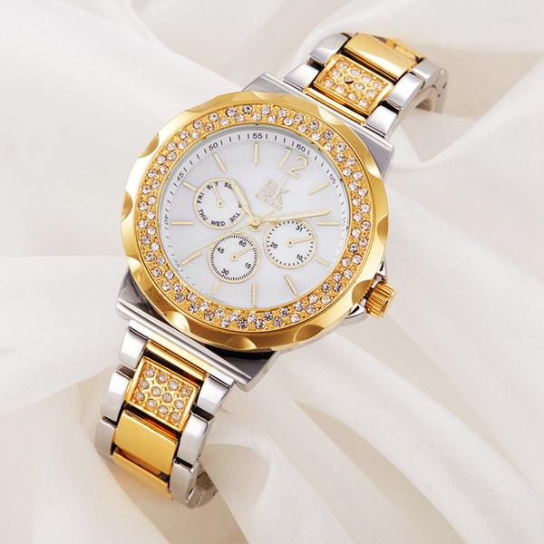 Fashion Woman Surface Quartz Steel Net Bring Wrist role diamond Watch luxury invicta brand name watches swiss movement master Free shipping