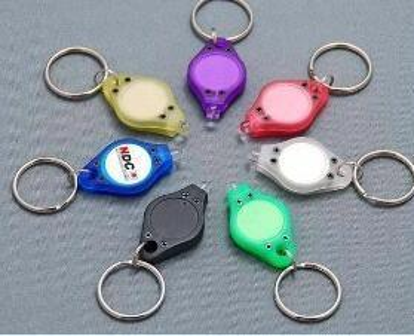 Black ultraviolet rays mini Flashlights UV light Money Detector LED Keychain Lights Multicolor Small Gift DHL Free 111