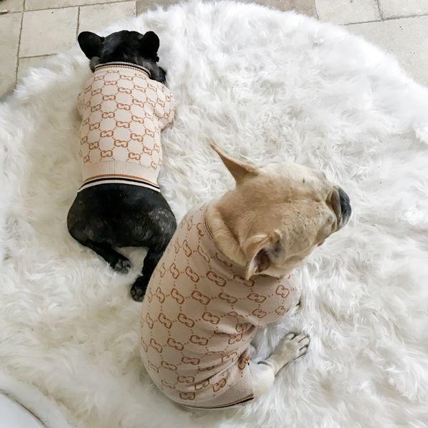Pet dog clothe weater collar mall dog tide pet bixiong kitty clothe dog core pun yarn cardigan weater b9