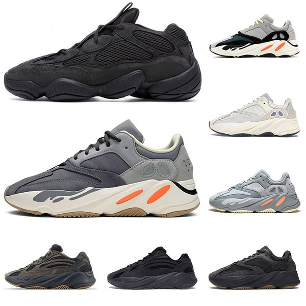 yeezy700V2 kanye west wave runner mens women running shoes Vanta Analog Geode Inertia Static Mauve sports sneakers 36-45