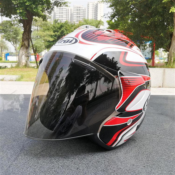 Free Shipping 2017 Arai Dual Use Skull Motorcycle Helmet Capacete Casco Novelty Retro Casque Motorbike Half Face Helmet0000