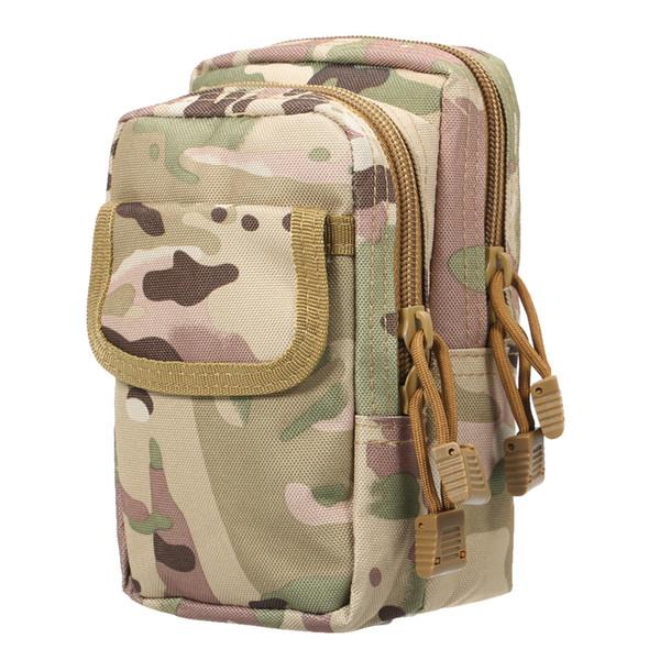 Marsupi in nylon per esterno Borsa tattica per piccoli sacchetti da caccia Marsupio multi-marsupio per organizzatore da campeggio all'aperto