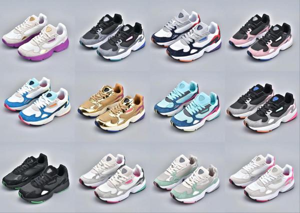 Scarpe Sport Adidas Falcon W Running Shoes 2019 NOVITÀ Alta
