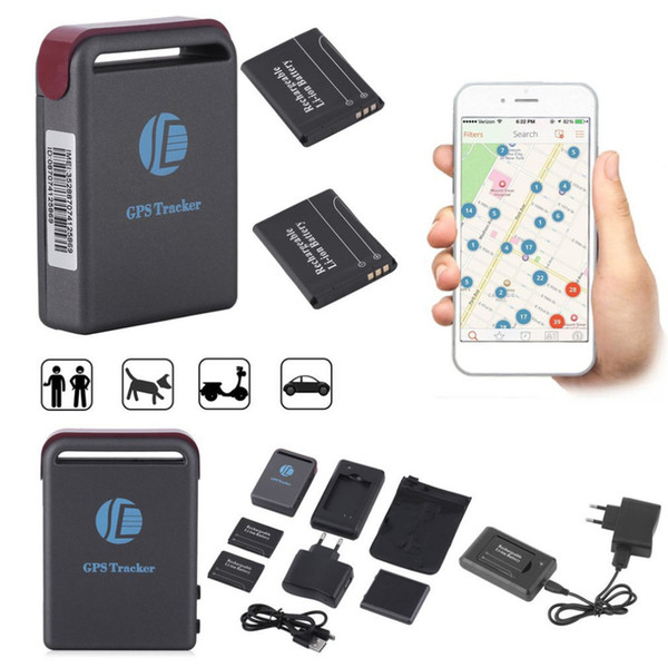 Professionnel Mini Précis GPS / GSM / GPRS Tracker Émetteur GPS Localiser Spot Locator Voiture Auto En Temps Réel Dispositif De Suivi Chaud