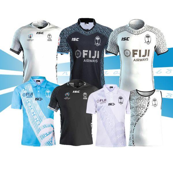 2019 FIJI RUGBY JERSEY Coupe du Monde de Rugby Japon 2019 FIJI RUGBY JERSEY MAISON ET JAY JAYERY taille S-5XL FIJI Livraison gratuite de qualité supérieure