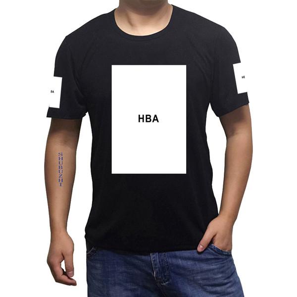 Hood by air summer mens HBA Big box t shirts men DGK tshirt ktz bandana t-shirt skateboard Hip Hop hba swag Tops tees sbz613