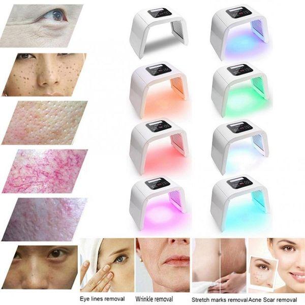 best selling NEW Professional Photon PDT Led Light Facial Mask Machine 7 Colors Acne Treatment Face Whitening Skin Rejuvenation Light