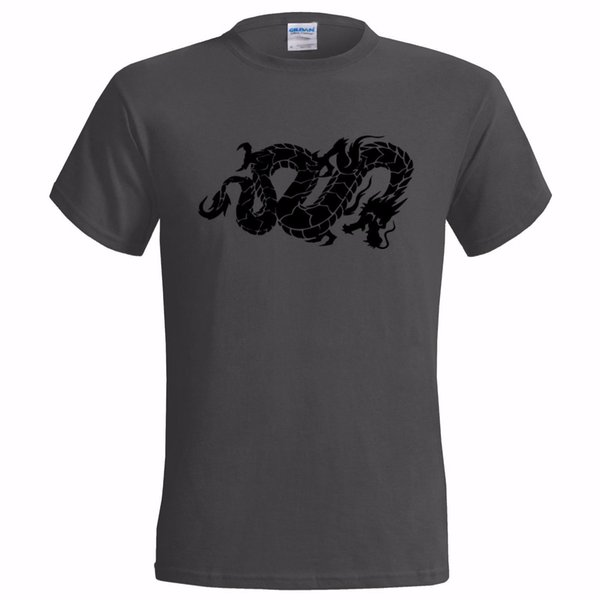CHINESE DRAGON SNAKE TATTOO STYLE ART MENS T SHIRT LUCK CANTONESE SYMBOL suit hat pink t-shirt