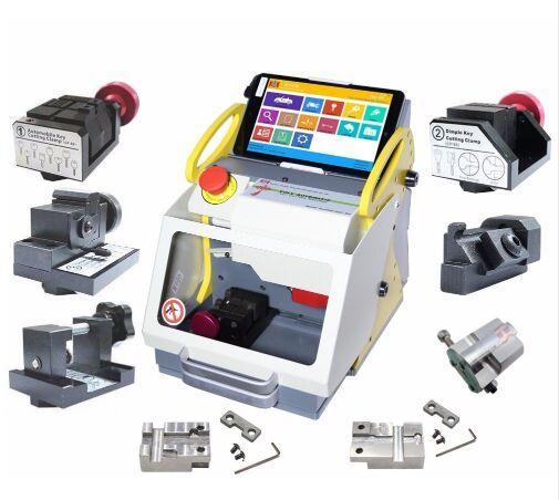 100% Original Full Automatic SEC-E9 Key Cutting Machine Auto Key Programmer For All Cars SEC-E9 Key Cutting Machine Silca Machine