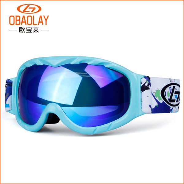 Mädchen Jungen Skibrille Kleine Größe Skibrille für Kinder Doppel UV400 Anti-fog-Ski Brille Kinder Snowboard