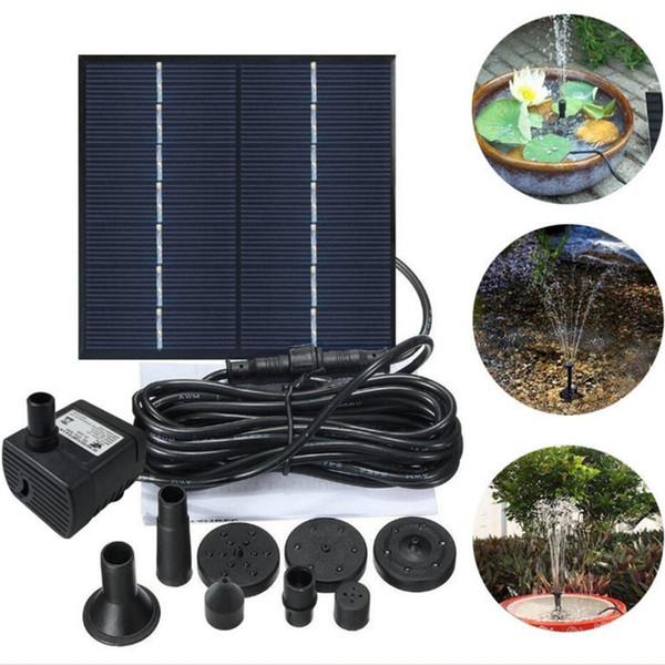 50 W Solaire de jardin étang étang Plongée Pompe Éclairage DEL Jardin Projecteur D/'eau