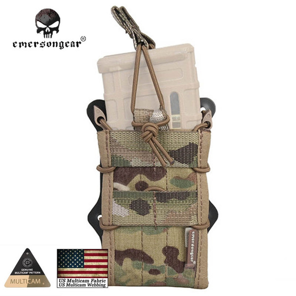 Emersongear Double Modular Rifle Magazine Pouch Tactical Hunting Emerson Gear Molle Mag Pouch EM6035 Multicam Coyote Khaki AOR1 #317885