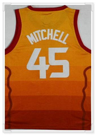 Utah squadra # 45 Mitchell - Arancione