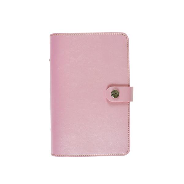 Sujetador rosa claro A5 solo cubierta de la carpeta
