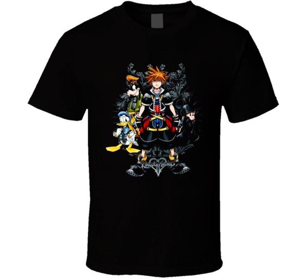 Kingdom Hearts 2 Heroes Video Game T Shirt Men Women Unisex Fashion tshirt Free Shipping