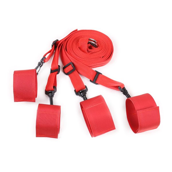 Under the Bed Restraint System Bed Cuffs Restraints BDSM Bondage Gear Wrist Ankle Cuffs Sex Toys for Couples gn352449030