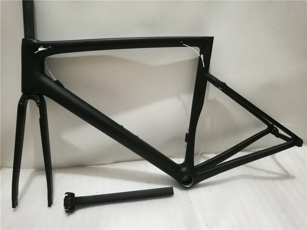 2019 Hot Sell OEM bicycle carbon frame road chameleon color matte glossy carbon fiber superlight weight frame Di2 Mechanical taiwan made